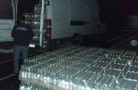 В Закарпатской области изъяли 8 тыс. бутылок водки