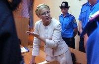 Тимошенко требует разрешить ей встречи без свидетелей