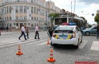 В Виннице патрульные сбили девушку на пешеходном переходе