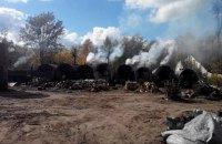 В Житомирской области нашли две подпольные фабрики древесного угля