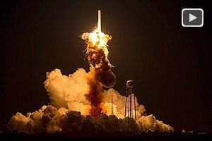 Американско-украинская ракета-носитель взорвалась на старте