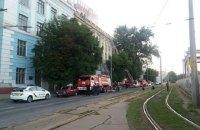 В Днепре из-за ночного пожара эвакуировали более 150 жильцов пятиэтажки