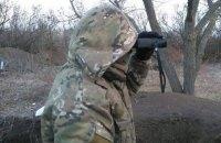 Один военный ранен на Донбассе в понедельник