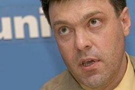 """Тягныбок готов после выборов сказать Медведеву """"Превед, Медвед"""""""