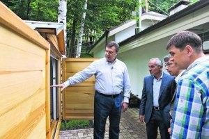 В Межигорье Янукович отдыхает среди пчел