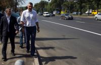 Власти Киева отчитались о завершении ремонта дороги на проспекте Победы