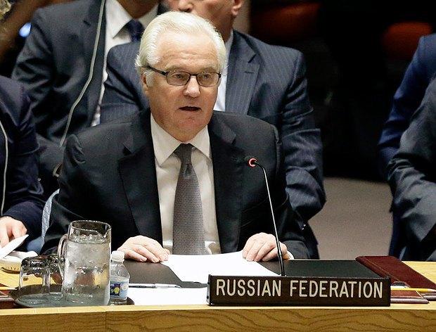 Посол Росії в ООН Віталій Чуркін