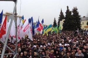 Оппозиция готовится к маршу в Сумах