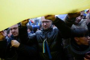 Яценюк: провокацию под АП устроили Клюев и Медведчук