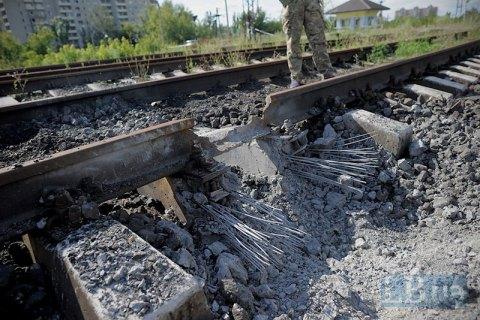 """47 вагонов кокса из """"ЛНР"""" застряли в Луганской области из-за подрыва ж/д пути"""