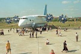 Ющенко на авиасалоне в Дубае похвастал украинским АН-70