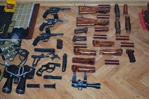 За незаконное хранение оружия мвд в