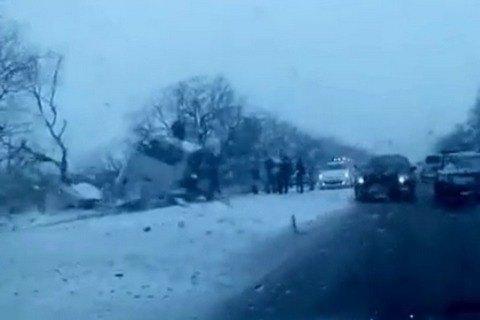 МВД: вкрупном ДТП под Ханты-Мансийском погибли шестеро детей