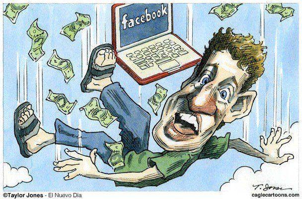 Марк Цукерберг: все растет и растет