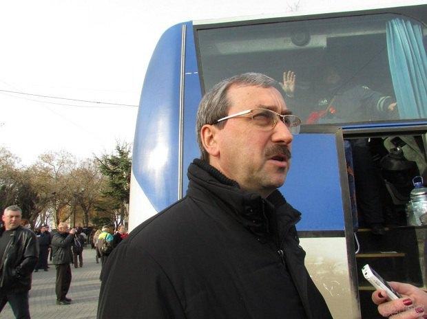Начальник управления МВД Украины в Севастополе Александр Гончаров