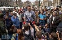 Кличко против силового разгона Майдана