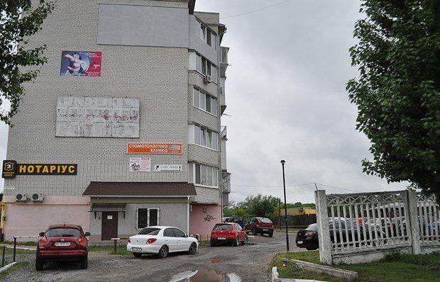 Избирательный штаб Сабадаша по ул. Декабристов