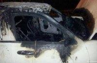 В Харькове сожгли уже третью машину Евромайдана