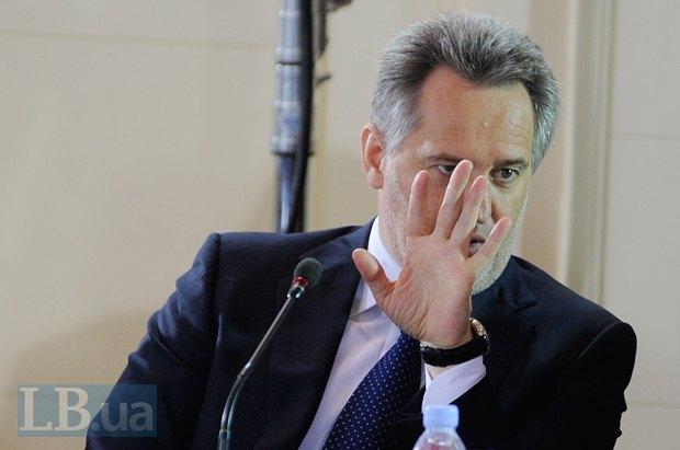 Бывший владелец обанкротившегося Надра банка Дмитрий Фирташ