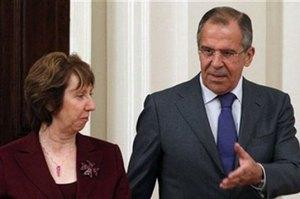 Эштон обсудила с Лавровым ситуацию в Украине