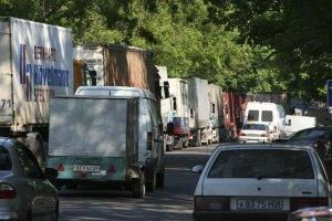 Візит Януковича паралізував львівський транспорт