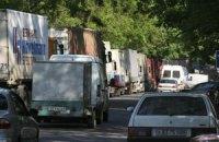 Визит Януковича парализовал львовский транспорт