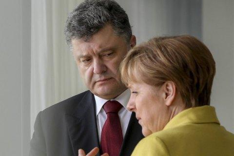 Порошенко 1 лютого вБерліні зустрінеться зМеркель— адміністрація
