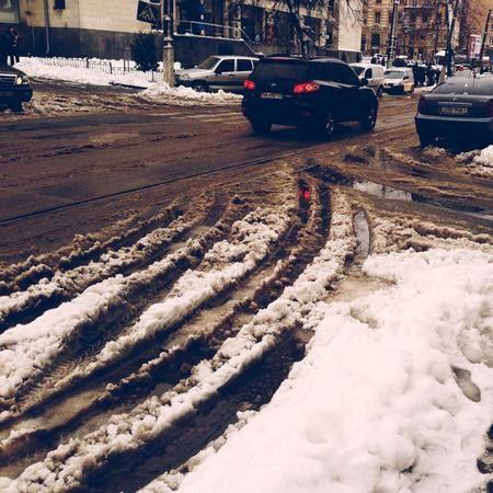Центр города (улица Дмитриевская).