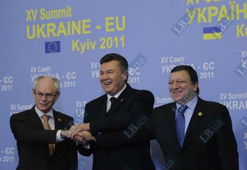 Саммит Украина-ЕС. 2011-й год