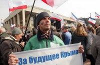"""""""Власти"""" Симферополя запретили проводить любые массовые мероприятия"""