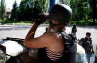 В Луганской области боевики обстреляли из минометов блокпосты украинских военных