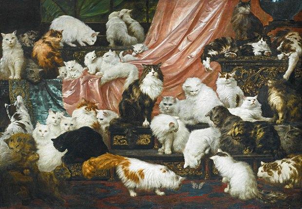 Картину із 42-ма котами продали за $826 тисяч (фото)
