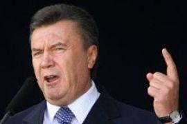 Янукович охрип перед шахтерами