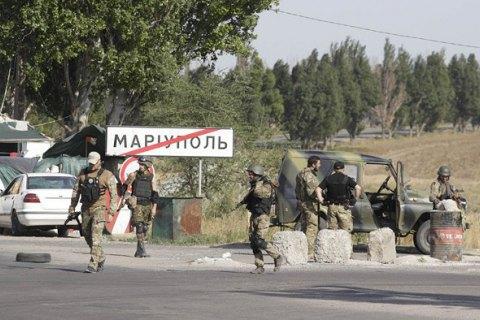Украина усиливает оборону Мариуполя