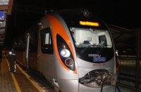 Поезд Интерсити Киев-Перемышль сделал тестовый рейс