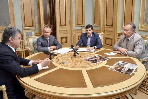 Гузырь и Сакварелидзе вместе доложили Порошенко об операции в ГПУ