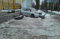 В Киеве возле университета им. Шевченко произошло ДТП со смертельным исходом