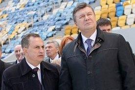 На празднование 80-летия области в Днепропетровск приехали Колесников и Табачник