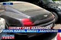 На улицах Дели обнаружены десятки брошенных Bentley, Aston Martin, Rolls-Royce, Ferrari, Lamborghini