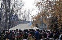 МВД просит чернобыльцев Донецка приостановить акцию протеста