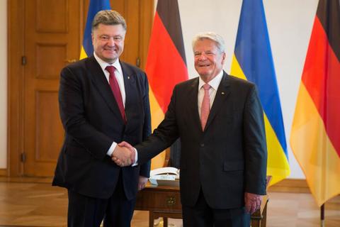 Порошенко встретился с президентом Германии