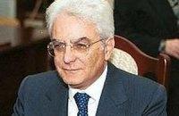 Новый президент Италии Серджо Маттарелла приведен к присяге