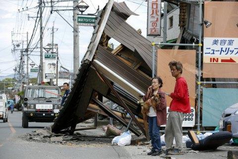 В Японии подсчитали число погибших и раненых при серии землетрясений (обновлено)