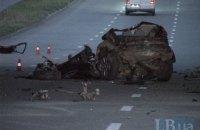 В жуткой аварии на Саперно-Слободской в Киеве погибли два раллиста