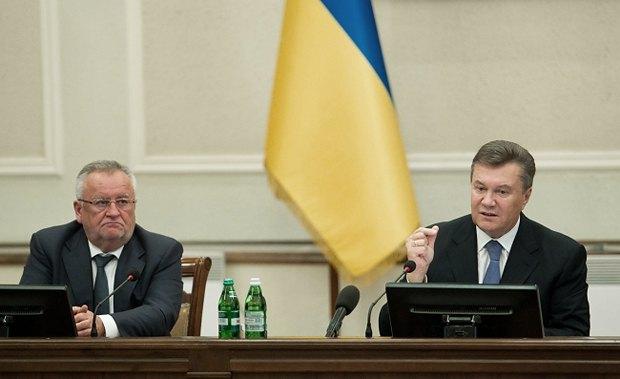 Борис Клімчук та Віктор Янукович