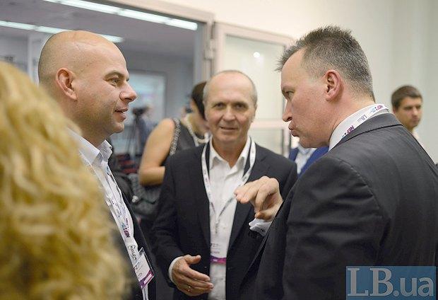 Виталий Бутенко (справа ) и Лев Пидлисецкий (слева)