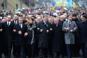 Марш Достоинства в Киеве завершился без происшествий