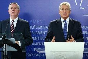 Кокс и Квасьневский отказались комментировать встречу с Луценко