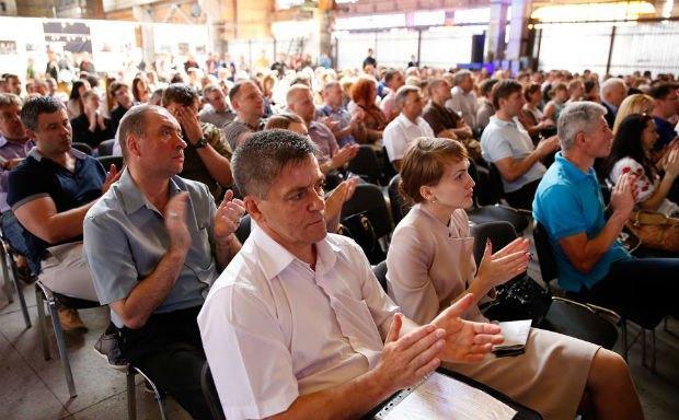 Презентация партии состоялась в Арт-кластере «Выдубичи» в Киеве