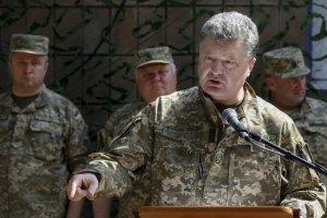 Порошенко назвал руководство ЛНР-ДНР бомжами и безбожниками